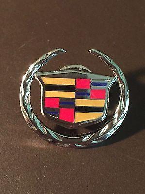 2000 Cadillac vintage General Motors silver ornament pin