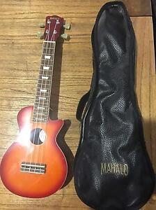 Mahalo LP shaped Soprano Ukelele ULP1CS + carry bag Albany Creek Brisbane North East Preview