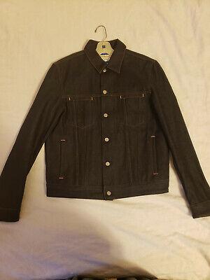 Unworn Acne Studios Bla Konst Slim Denim Jacket Made in Italy NWOT Size L