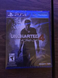 Sealed uncharted 4
