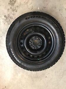 Winter tires 225/60R17 x 4