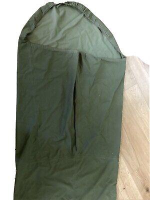 2 X British Army Olive green MVP Gore-Tex bivi bag / sleeping bag covers.