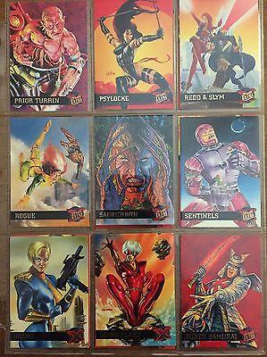 1995 fleer ultra x-men pick your single cards for sale 1-150 base set marvel '94