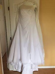 Wedding Dress and Bra