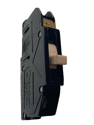 Zinsco Magnetrip 25 Amp 1 Pole Circuit Breaker 25 A 1p Type T Single T125