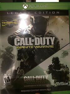 Cod infinite warfare + modern warfare remastered  West Island Greater Montréal image 1