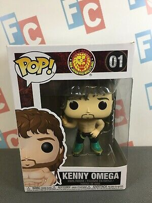 New Japan Pro Wrestling NJPW Funko POP! Vinyl #01 Kenny Omega Figure