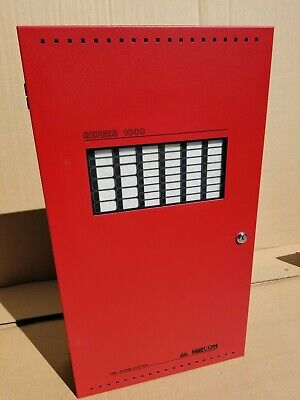 Mircom 1000 Fire Alarm Control Panels Boards Cabinets Red
