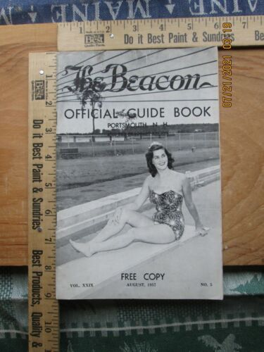 the bacon official guide book portsmouth NH & the seacoast region 1957