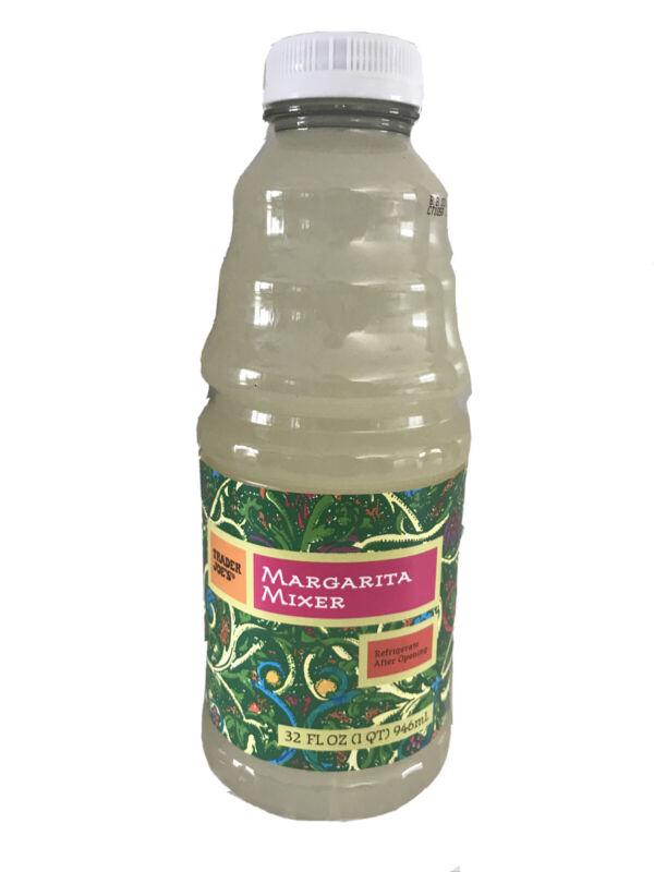 VALUE 2 PACK Trader Joe's MARGARITA MIXER Lemon Lime Drink Mix 32 oz. each