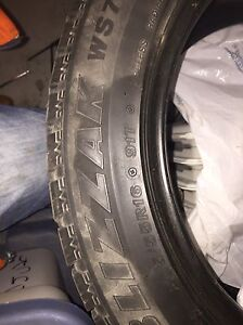 4 Bridgestone Blizzak 205/55R16 Peterborough Peterborough Area image 2