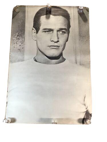 Paul Newman Original Vintage Poster Black White 1968 Movie Memorabilia Pin Up - $85.85