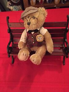 Teddy Bear on Bench