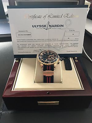Ulysse Nardin Hammer Head Watch 2016 Limited Edition.