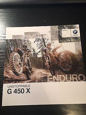 Genuine BMW Motorrad G450X Brochure