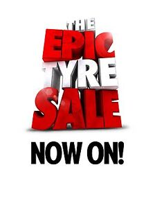 EPIC TYRE SALE NOW ON LOWEST PRICES GUARANTEED!! Perth Perth City Area Preview