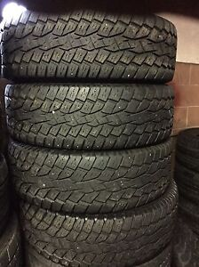 4 all terrain truck tires 265/70/17 Toyo installation available