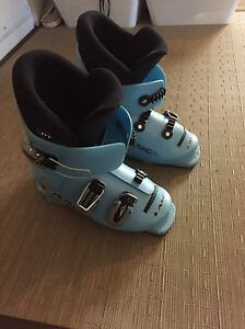 Kid's Downhill Ski Boots Lange Size 259 mm or Size 4