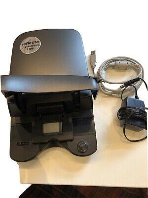 Reflecta CrystalScan 7200 Digital Ice Dia und Filmscanner Positiv Negativ - Grau