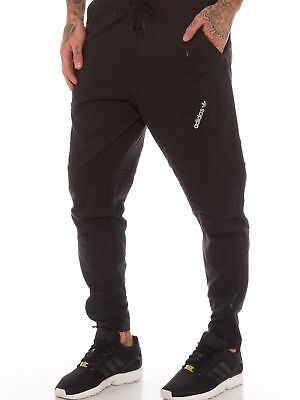 Mens adidas Originals Mod Fit Tracksuit Bottoms Sweat Pant Black  - BNWT - XS