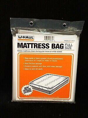 UHAUL 2 Mil Mattress Bag FULL Size 87'' x 54'' x 10