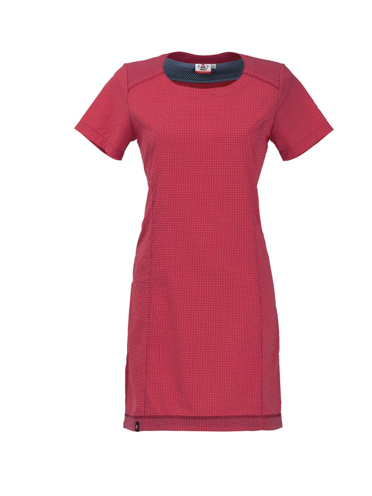Maul Outdoorkleid Welschnofen teaberry oder schwarz/grau kariert Damenkleid