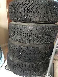 Brand winter tires 225/60/R16