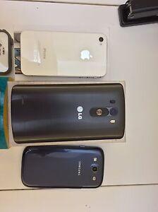 TELUS - LG G3 (32GB),  iPhone 4S (16GB).