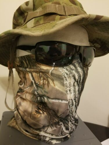 realtree face mask tactical military army camo