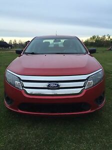 Red Ford Fusion For Sale Edmonton Edmonton Area image 1
