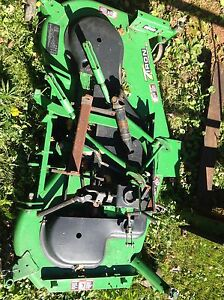 7 iron commercial 60 mid mount mower