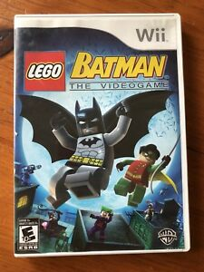 Wii Batman LEGO Game