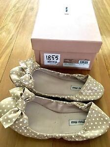 28248fc9fdc Authentic Miu Miu ballerina shoes