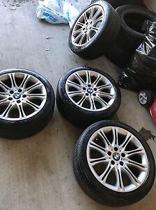 BMW 535xi M rims/ tires wheels. Edmonton Edmonton Area image 3