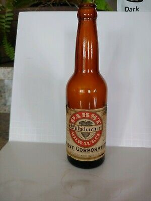"""Pabst """" Kulmbacher """" Prohibition Cereal Beverage Pabst Corp. Milwaukee Wis. USA"""