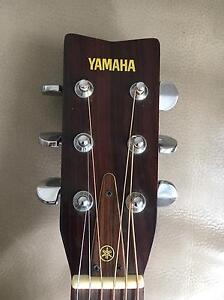 Yamaha vintage classic Left handed FG 335 acoustic guitar Sounds great Botany Botany Bay Area Preview