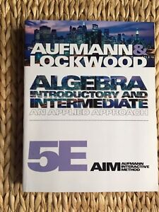 Algebra Introductory and Intermediate, 5th Edition
