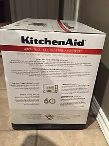 "KitchenAid Architect series 12"" countertop oven"