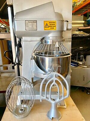 Precision Av-02 20 Qt Mixer W Bowl Whip Paddle Nsf Approved 110 Volts