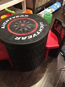 Cars Tire Table and Chair Set