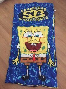 Sponge Bob Sleeping Bag - Youth Size