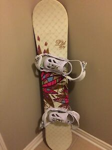 Snowboard, bindings and bag all included!