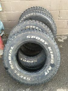 Brand New Mud and Snow tires for truck