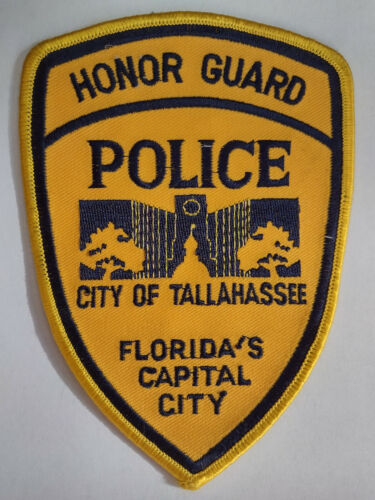 Tallahassee Florida Police Honor Guard Patch (Old Style) // FREE US SHIPPING!