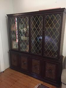 Exotic wooden cabinet Burwood Heights Burwood Area Preview