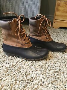 Women's Sperry Top Sider boots 7.5