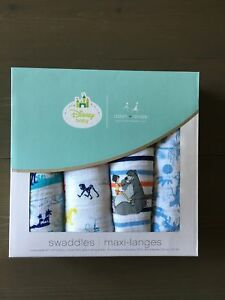 Aden + Anais Jungle Book Swaddle Blankets