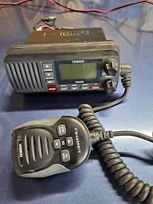 Uniden Um435 Fixed Mount VHF Radio Black UM435BK