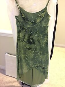 Beautiful dress green with shimmer :)