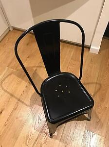 4x Black WORX Industrial Chairs Waterloo Inner Sydney Preview